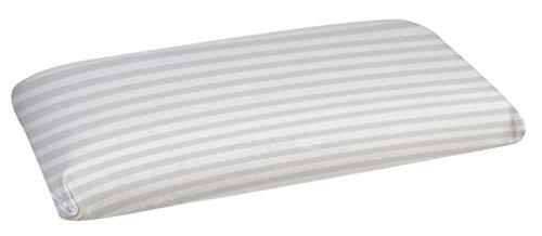 Pikolin Home - Almohada viscoelástica, antiácaros, con doble funda, firmeza media, 40 x 70 cm, altura 15 cm