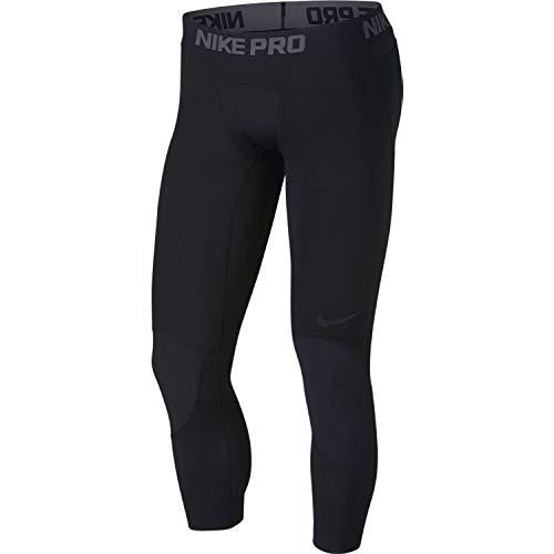 Nike Herren M NP Dry 3QT Bball Tights, Black, M