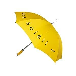 Incidence Paris Ze P'Brok Sos Soleil Parapluie Pliant, 102 cm, Jaune