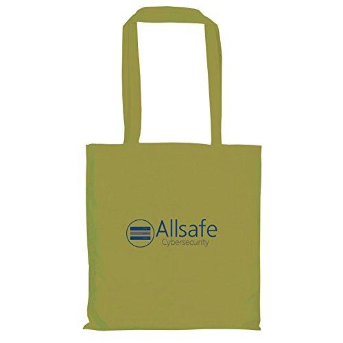 TEXLAB - Allsafe Cybersecurity - Stoffbeutel, oliv (Fsociety Kostüm)