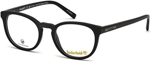Timberland Unisex-Erwachsene TB1579 Sonnenbrille, Schwarz (Nero Opaco), 49.0