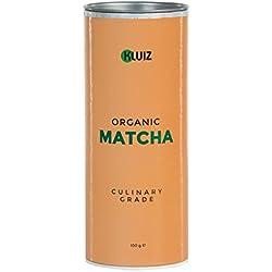 Bio Matcha Tee Pulver - Culinary Grade for Cooking | Ideal für Matcha Latte, -Smoothie oder zum Backen | Aromaschutzdose | ohne Zwischenhandel