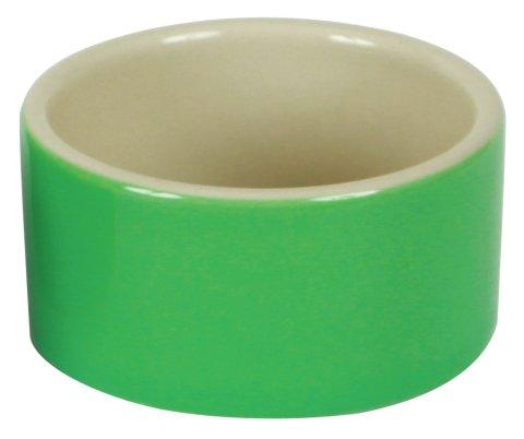 Hamsternapf, Keramik, 100 ml / Ø 7,5 cm, farblich sortiert, Außenseite glasiert
