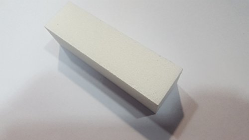 Bloc Polissoir à Ongles Lime Nail Art Manucure Blanc