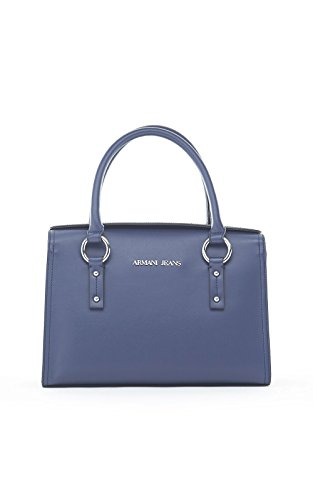 ARMANI JEANS BOLTS TOP HANDLE BAG C521VS4 Blu