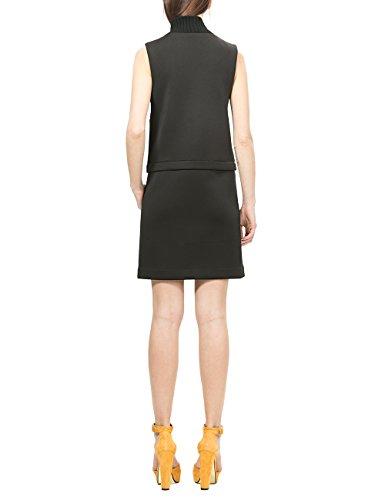 Desigual Damen Kleid Vest_Mariona Schwarz (NEGRO 2000)