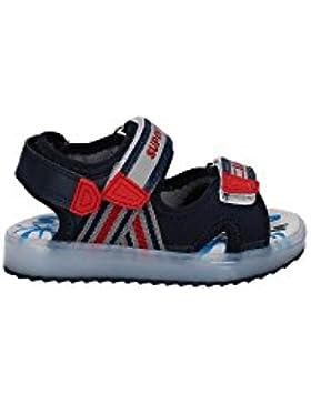 Super Jump sandalo Martin con suola led ricaricabile BLU, 29 MainApps