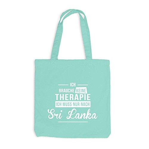 Borsa Di Juta - Non Ho Bisogno Di Terapia Sri Lanka - Terapia Vacanza Afrika Mint
