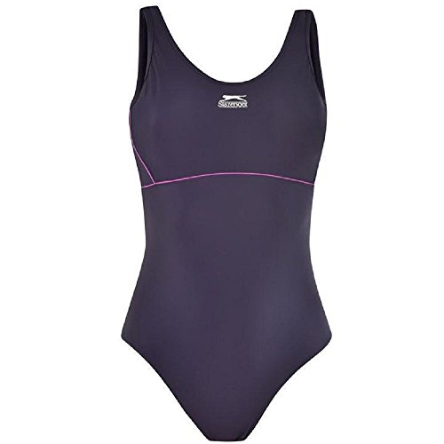 Slazenger Damen Badeanzug, figurbetont  36 marineblau
