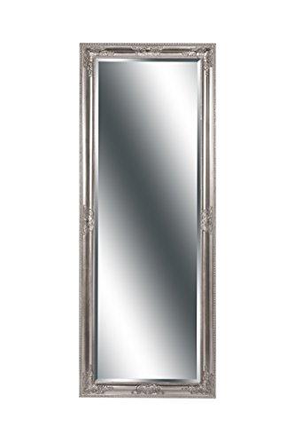 Spiegel Wandspiegel Barock antik silber MIRIAM Ganzkörperspiegel 160 x 60 cm