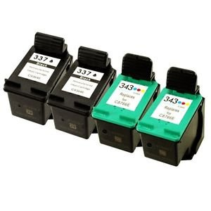 4-2-sets-colour-direct-remanufactured-hp-337-schwarz-hp-343-tri-colour-tinte-patrones-austausch-fur-