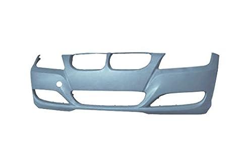 BMW 3 Series Saloon / Estate 2008-2012 Front Bumper No Wash Jet or Sensor Holes - Primed (Standard