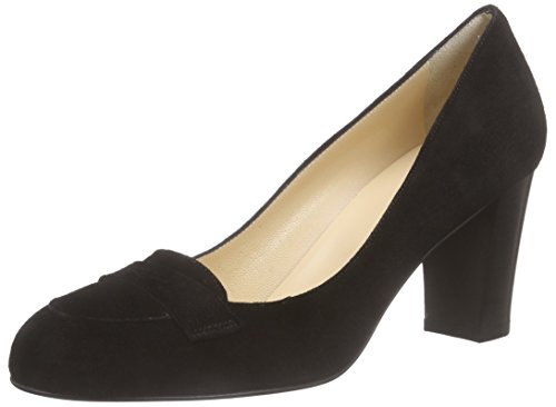 Evita Shoes Damen Pump Pumps, Schwarz (Schwarz 10), 40 EU