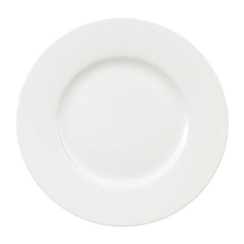 Villeroy & Boch Royal Speiseteller, 27 cm, Premium Bone Porzellan, Weiß (Service Plate)