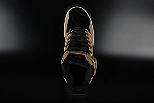 Supra Bleeker Tan Black Off White Sneaker Black Tan