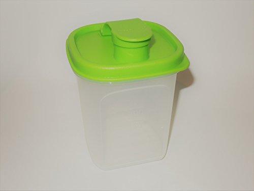 1a TUPPER Trink- und Streubehälter MESS & GO 350ml --- klar lila