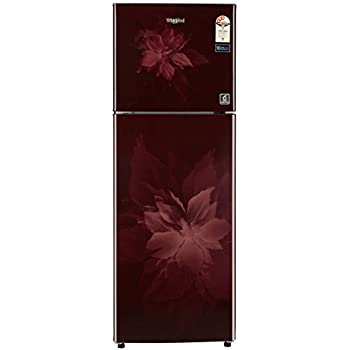 Whirlpool 265 L 3 Star Frost-Free Double-Door Refrigerator (Neo SP 278 PRM 3S, Wine Regalia)