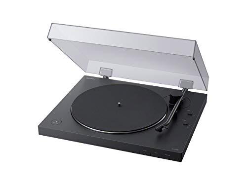 Sony Ps-lx310bt Tocadiscos con Salida De Audio Bluetooth Brazo Tonal 33 Y 45 RPM Salida De Linea Y...