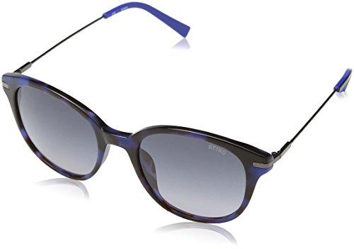 Sting ss6580, occhiali da sole uomo, grigio (havana opaline red), taglia unica