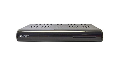 Nabo Cable-Star Kabelreceiver HDTV DVB-C Receiver HD PVR Ready USB HDD Conax Schwarz