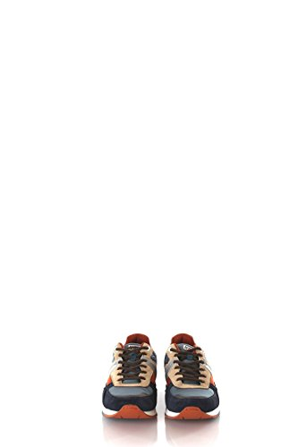 Sneakers Uomo Napapijri 42 Grigio/blu 13833564 Autunno Inverno 2016/17