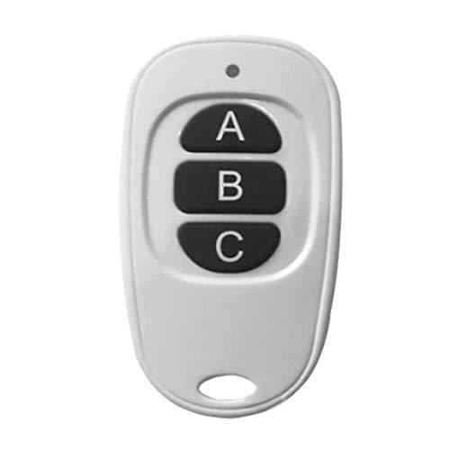 433 Mhz Mini (fghfhfgjdfj Ultradünne eiförmige Mini-Fernbedienung RF 433MHz Wireless Remote Controller 2-4 Schlüssel Auto Duplicator für Garagentor)