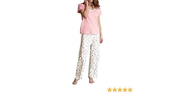 Ladies Ex M/&S Pyjama Set PJs Marks /& Spencer Warm Nightwear Lounge Xmas Gift