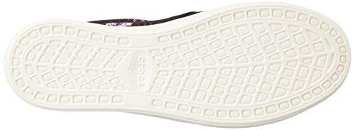 Crocs CitiLane Slip-on Sneaker, Sneakers Basses femme Noir (Black/Plum)