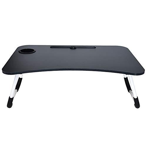ZSPAYNLA Faltbare tragbare Laptop-Ständer Bett faul Laptop-Tisch kleinen Tisch Tablett Möbel Computertisch faul Laptop-Tisch Falten -