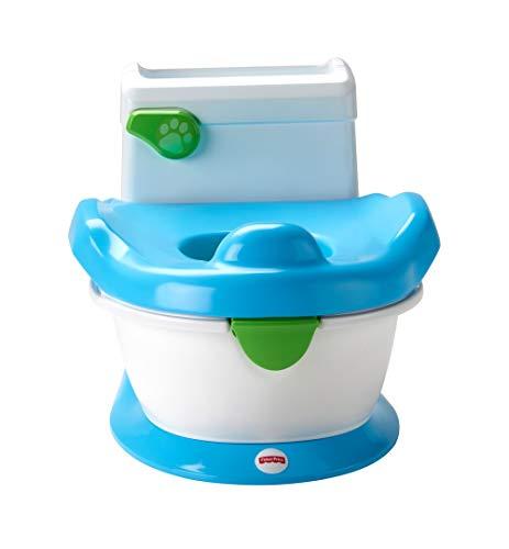 Fisher-Price - Vasino per bambini per imparare a usare il vasino, con suoni, canzoni e frasi per incoraggiare e ricompensare