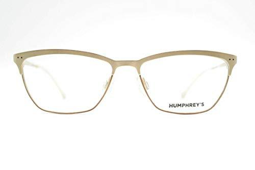Eschenbach Humphreys 582156 20 51[]14 135 Braun Matt Gold oval Brille Neu
