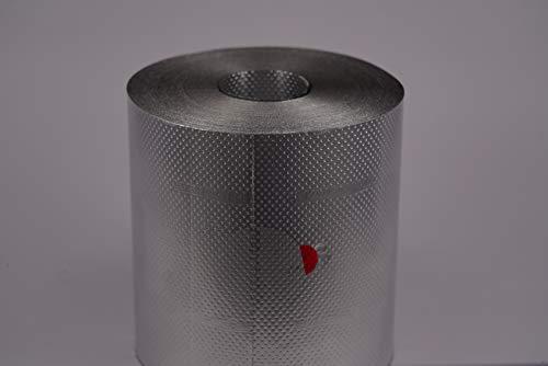 HairGrip - Papel de aluminio para mechas (9 cm, 75 m, antideslizante y muy resistente)