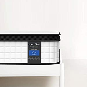 Inofia Memory Foam Mattress10.6Inch, The Elegant Collection /100 Night Test at NO Risk