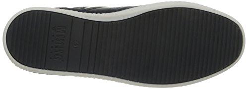 Mustang 4866301, Herren Hohe Sneakers Schwarz (9 Schwarz)