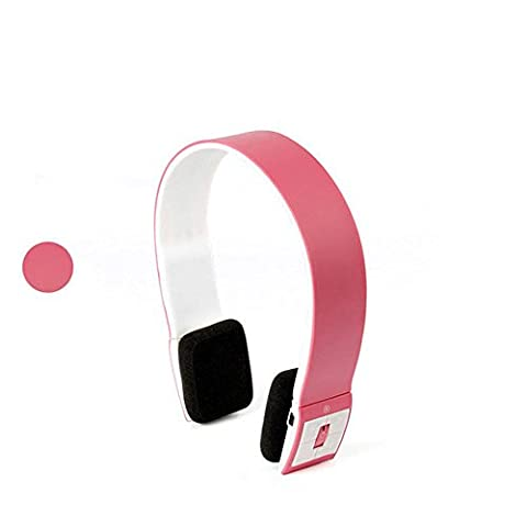 Wireless Sport Running Talk Headphones Subwoofer Stereo Headset Bluetooth Headset , pink