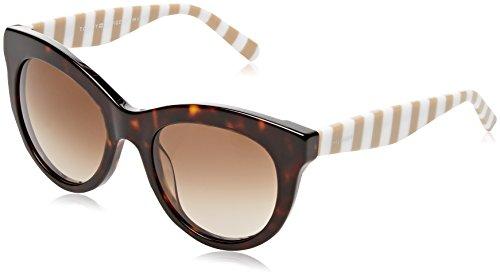 Tommy hilfiger th 1480/s ha 9n4, occhiali da sole donna, marrone (havana brown/brwn sf), 51