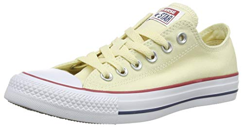 Converse Chuck Taylor All Star, Unisex-adult's Sneakers, Ivory (Natural White), 9 Uk (42.5 Eu)