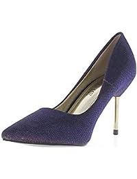 Amazon.it  ChaussMoi - Scarpe col tacco   Scarpe da donna  Scarpe e ... e035e378cd3