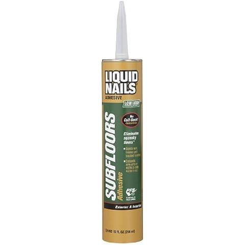 Liquid Nails LN902 VOC 10-Ounce Subfloors and