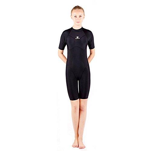 Axjzh Professionelle Frauen wettbewerbsfähige Kurze Ärmel Badeanzüge Ausdauer -