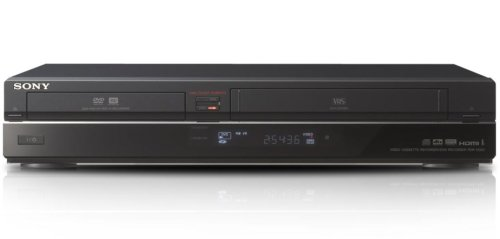 DVD/VHS-Kombi-Player RDR-VX450BB DivX, DV-Eingang (Sony Vhs Dvd Recorder)