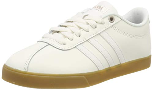 adidas Damen Courtset Sneaker Weiß Cloud White/Core Black 0, 40 2/3 EU