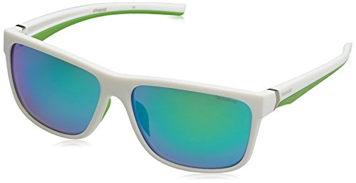 8b22184e01 Polaroid Sport Pld 7014/S 5Z 07R 59 Montures de lunettes, Blanc (White