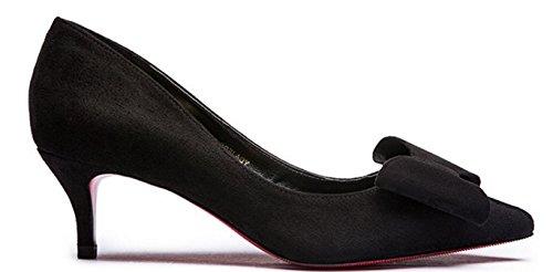 Lady Scrubs asakuchi a fait bow chaussures en automne/Avec des chaussures à talon bas A