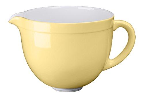 Kitchenaid Keramikschüssel, Keramik, pastellgelb 19.6x32x23.4 cm
