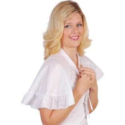 Solida - Frisierumhang chic & elegant weiß Frisierumhang chic & elegant weiß