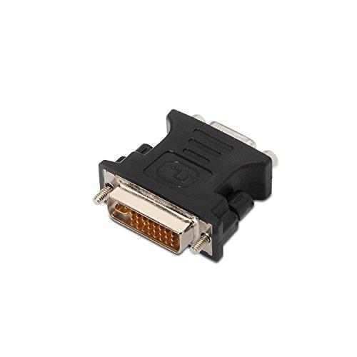 AISENS A118-0092 - Adaptador DVI a SVGA para Monitor o Tarjeta Grafica, Color Negro