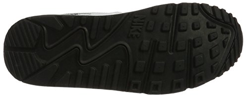 Nike Wmns Air Max 90, Chaussures de Gymnastique Femme Blanc Cassé (White/white/wolf Grey/black)
