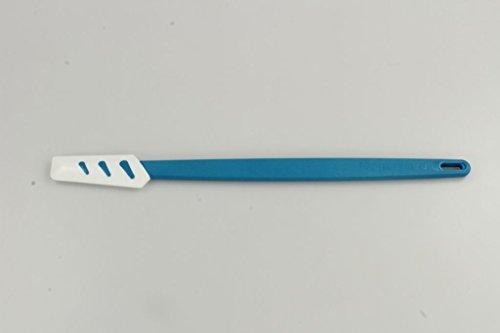 TUPPERWARE Spatule silicone fine bleu blanc