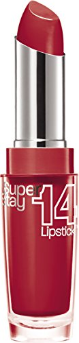Maybelline New York Superstay 14h Rossetto, 510 Non-Stop Red
